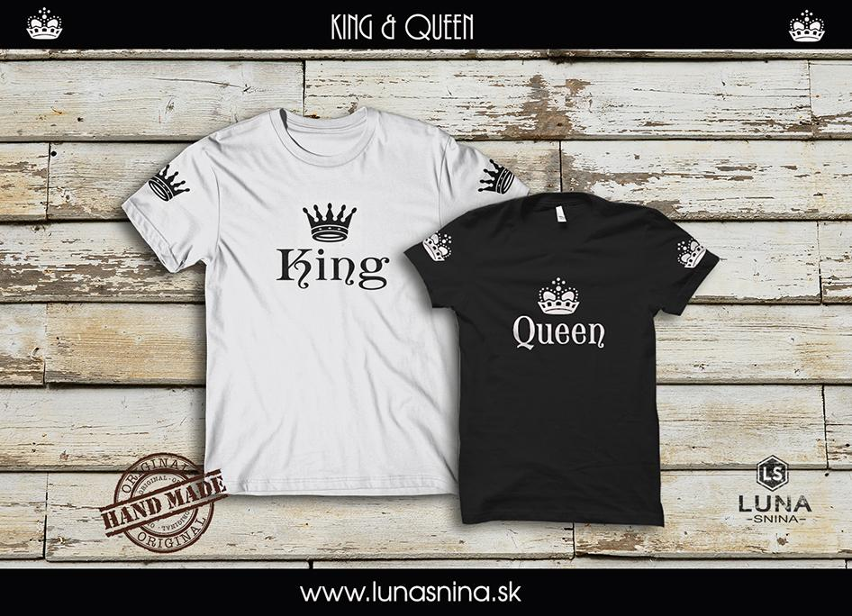 King & Queen NEW