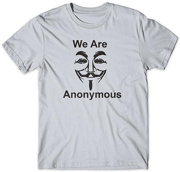 We are Anonymous tričko