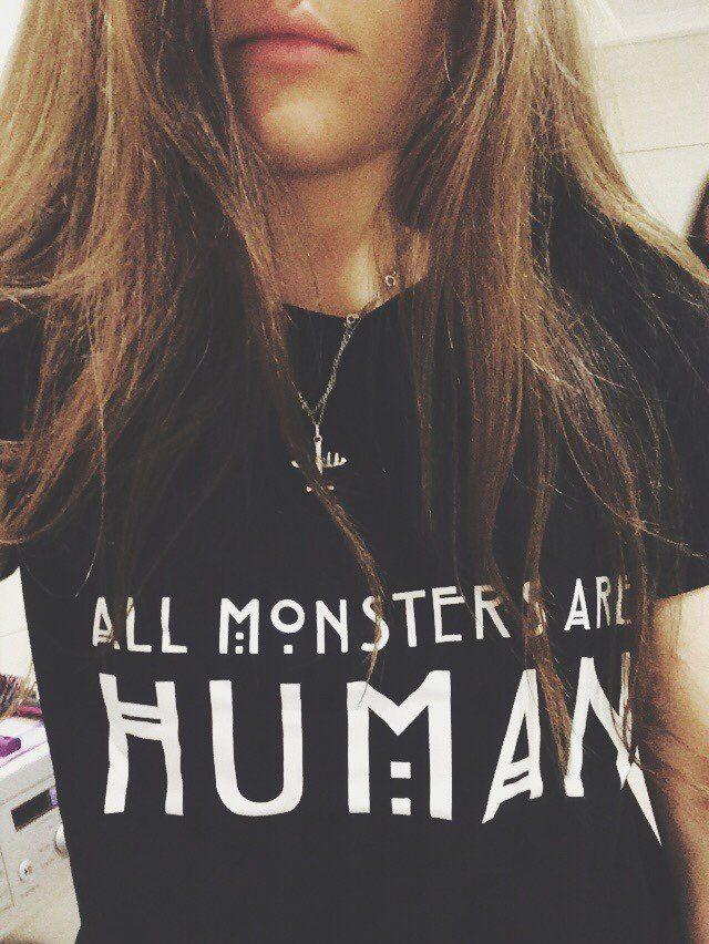 All monsters are human tričko
