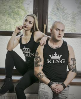 King & Queen tielka