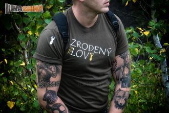 ... Zrodený pre lov pánske tričko 5725f83980